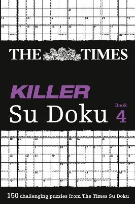 The Times Killer Su Doku 4 -