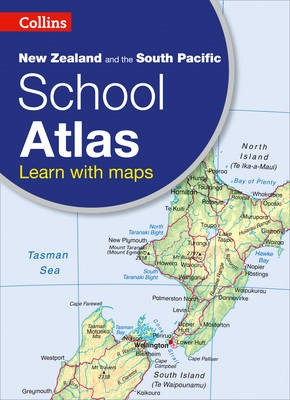 Collins New Zealand and the South Pacific School Atlas -