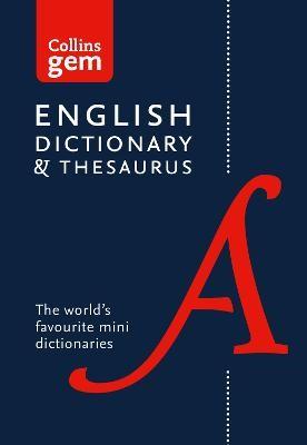 English Gem Dictionary and Thesaurus -