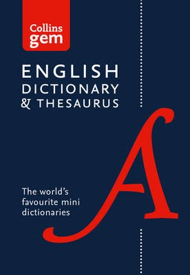 English Gem Dictionary and Thesaurus -