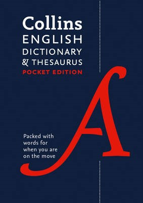 Collins English Pocket Dictionary and Thesaurus -