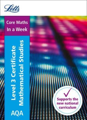 AQA Level 3 Certificate Mathematical Studies: In a Week -