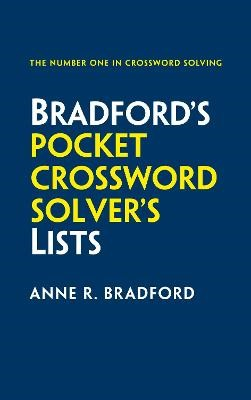 Bradford's Pocket Crossword Solver's Lists -