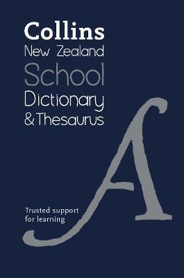 Collins New Zealand School Dictionary and Thesaurus - pr_1774472