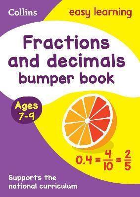 Fractions & Decimals Bumper Book Ages 7-9 - pr_20098