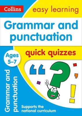 Grammar & Punctuation Quick Quizzes Ages 5-7 -
