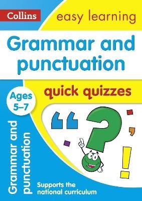Grammar & Punctuation Quick Quizzes Ages 5-7 - pr_18679