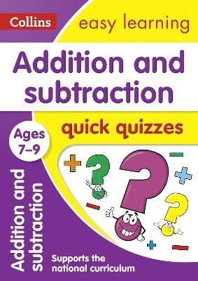 Addition & Subtraction Quick Quizzes Ages 7-9 - pr_411883