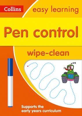 Pen Control Age 3-5 Wipe Clean Activity Book - pr_422798