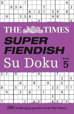 The Times Super Fiendish Su Doku Book 5 - pr_382670