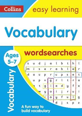 Vocabulary Word Searches Ages 5-7 - pr_236781