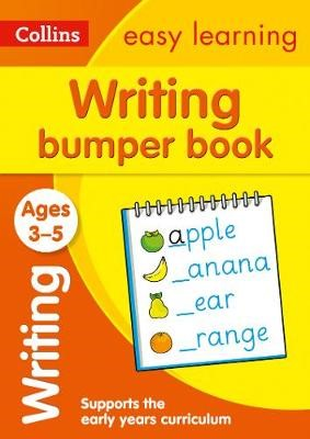 Writing Bumper Book Ages 3-5 - pr_116261