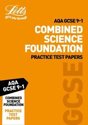 Grade 9-1 GCSE Combined Science Foundation AQA Practice Test Papers -