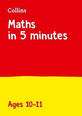 Maths in 5 Minutes a Day Age 10-11 - pr_244735