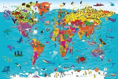 Collins Children's World Map - pr_293916