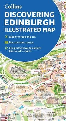 Discovering Edinburgh Illustrated Map -