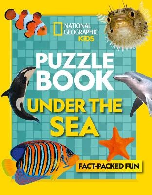 Puzzle Book Under the Sea -