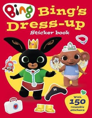 Bing's Dress-Up Sticker book -