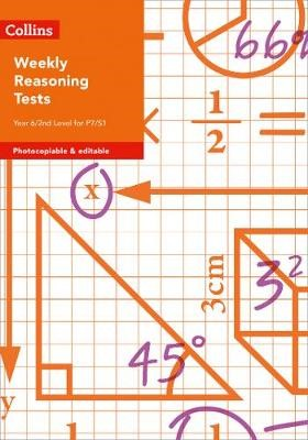 Weekly Reasoning Tests for Year 6 / 2nd Level for P7/S1 - pr_246139