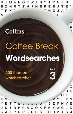 Coffee Break Wordsearches Book 3 -