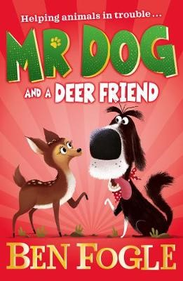 Mr Dog and a Deer Friend -