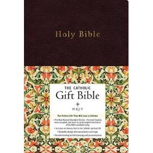 NRSV, The Catholic Gift Bible, Imitation Leather, Black