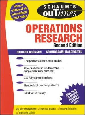 Schaum's Outline of Operations Research - pr_294241