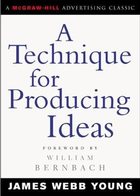 A Technique for Producing Ideas - pr_329249