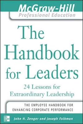 The Handbook for Leaders - pr_294154