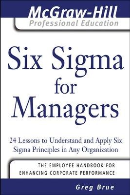 Six Sigma for Managers - pr_294269