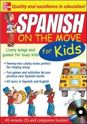 Spanish On The Move For Kids (1CD + Guide) - pr_294229