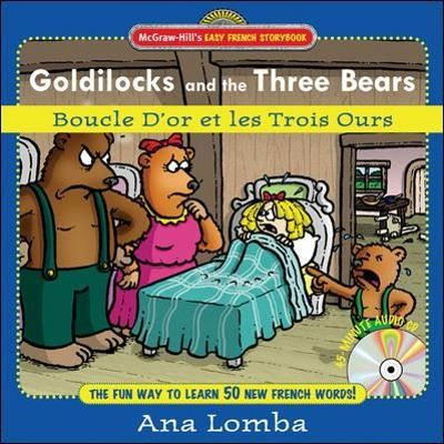Easy French Storybook: Goldilocks and the Three Bears(Book + Audio CD) - pr_294189