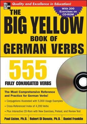 The Big Yellow Book of German Verbs (Book w/CD-ROM) - pr_294256