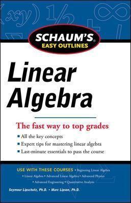 Schaums Easy Outline of Linear Algebra Revised - pr_102397