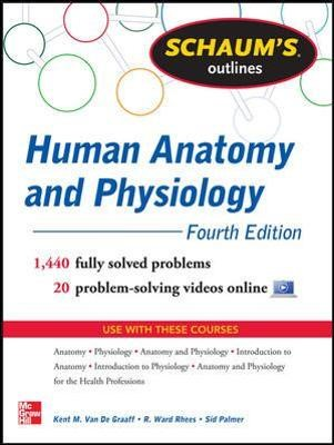 Schaum's Outline of Human Anatomy and Physiology - pr_300016