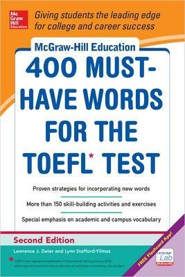 McGraw-Hill Education 400 Must-Have Words for the TOEFL - pr_299962