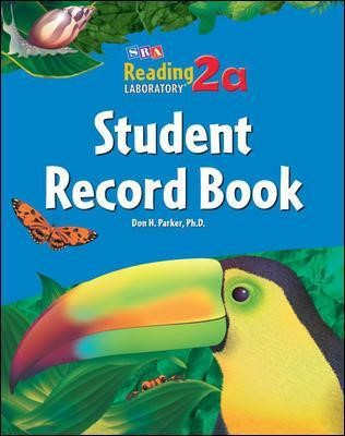 Reading Lab 2a, Student Record Book (5-pack), Levels 2.0 - 7.0 -
