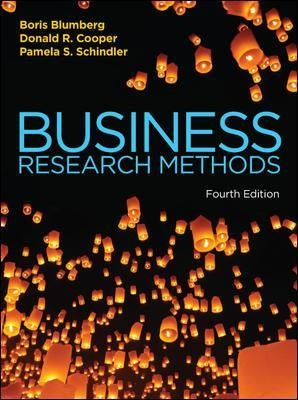 Business Research Methods -