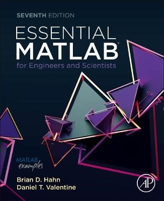 Essential MATLAB for Engineers and Scientists -