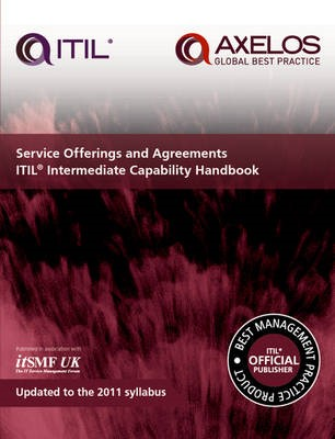 Service offerings and agreements ITIL 2011 intermediate capability handbook (single copy) - pr_16435