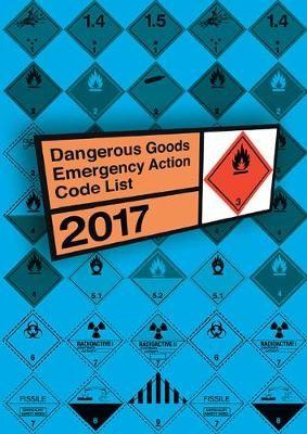 Dangerous goods emergency action code list 2017 - pr_16421