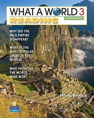 WHAT A WORLD 3 READING     2/E STUDENT BOOK         138201 -