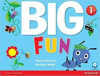 Big Fun 1 Student Book with CD-ROM - pr_17862