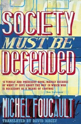 Society Must Be Defended -