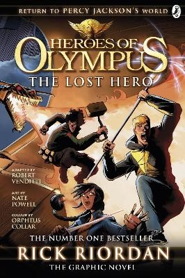 The Lost Hero: The Graphic Novel (Heroes of Olympus Book 1) -