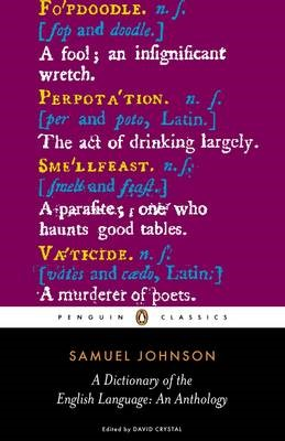 A Dictionary of the English Language: an Anthology - pr_149716