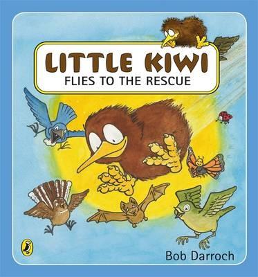Little Kiwi Flies to the Rescue -