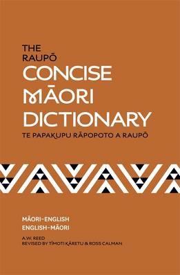 The Raupo Concise Maori Dictionary - pr_1866481
