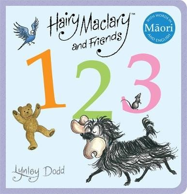 Hairy Maclary and Friends: 123 in Maori and English -