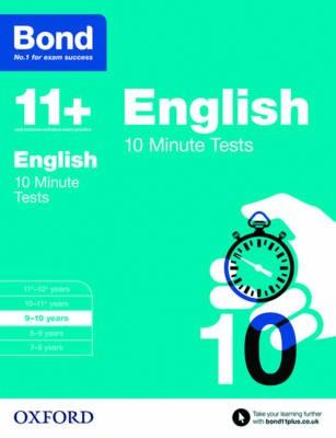 Bond 11+: English: 10 Minute Tests - pr_114843